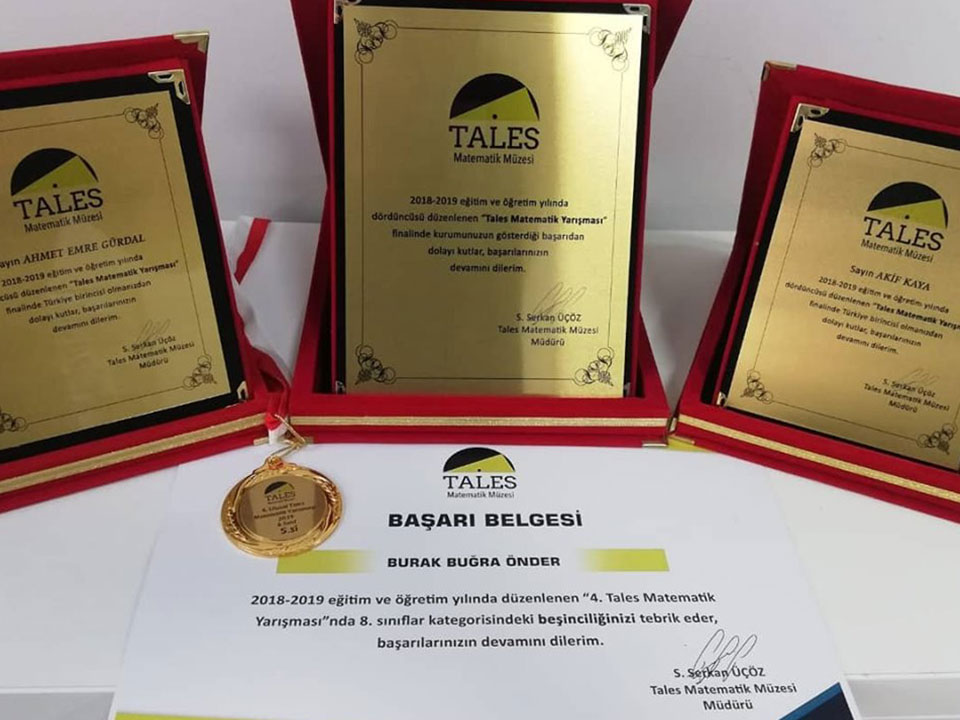 2019 ULUSAL TALES MATEMATİK YARIŞMASI