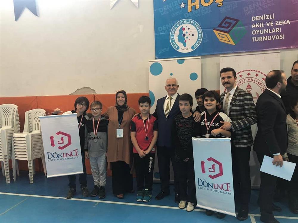 TAZOF Denizli'de Düzenlenen Zeka Oyunları Turnuvası