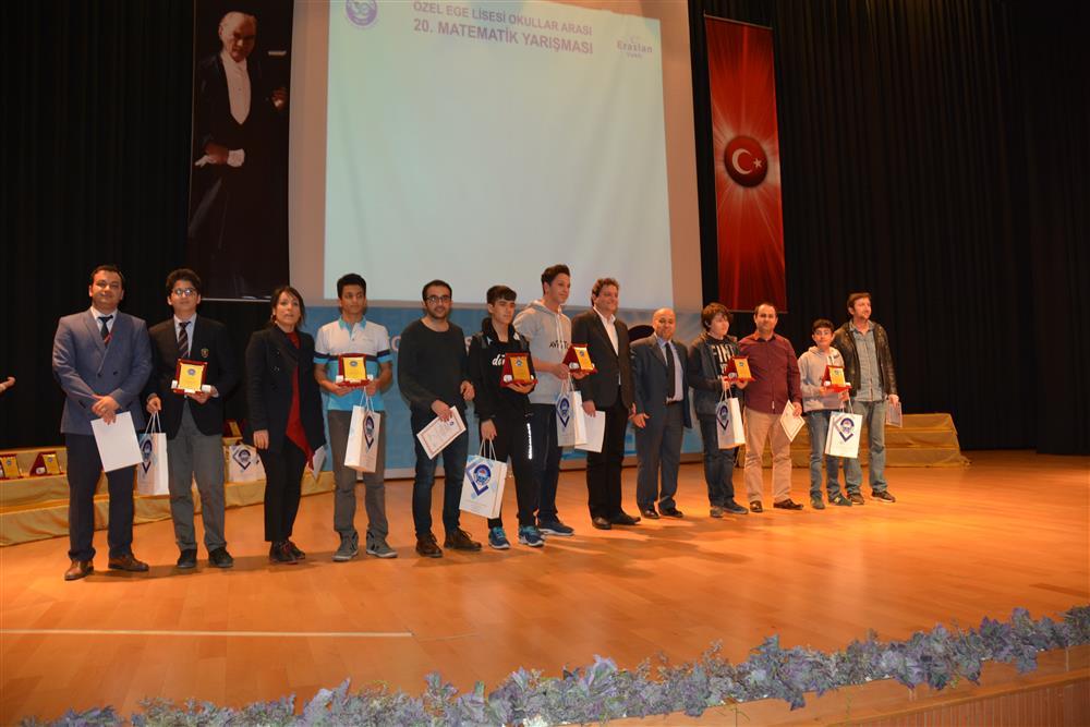 2018 ÖZEL EGE LİSESİ MATEMATİK YARIŞMASI