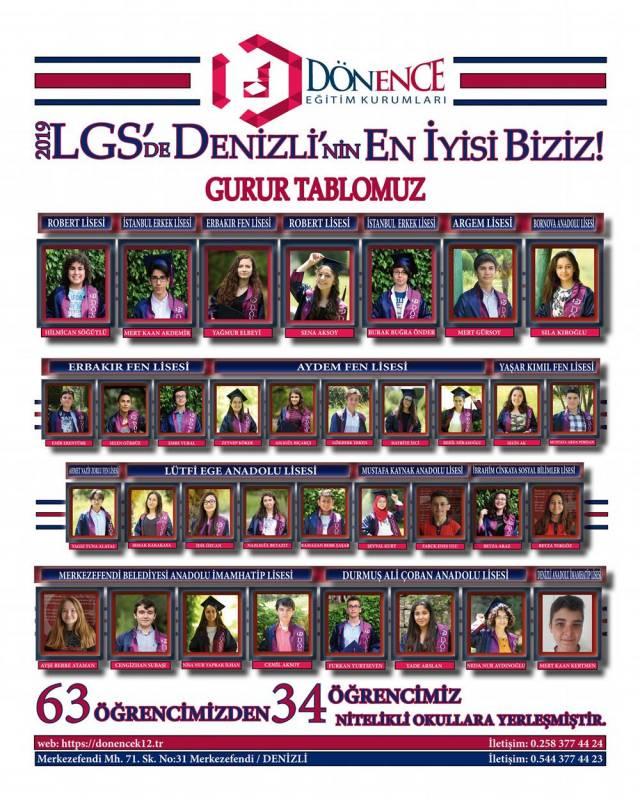 2019 LGS BAŞARILARIMIZ