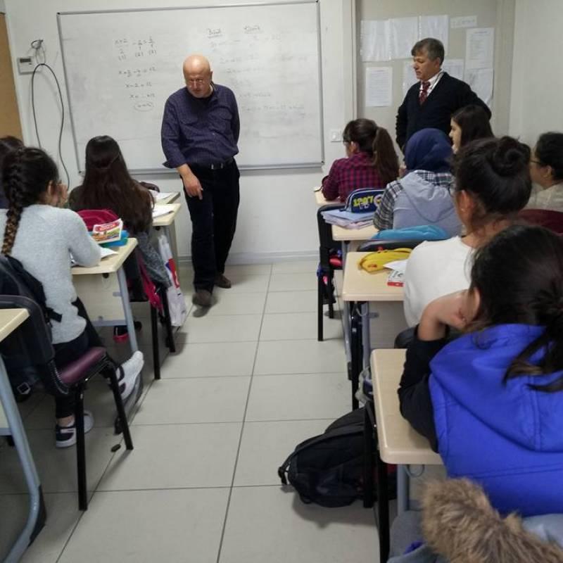 Prof. Dr. Ahmet Sınav'ın Okulumuzu Ziyareti